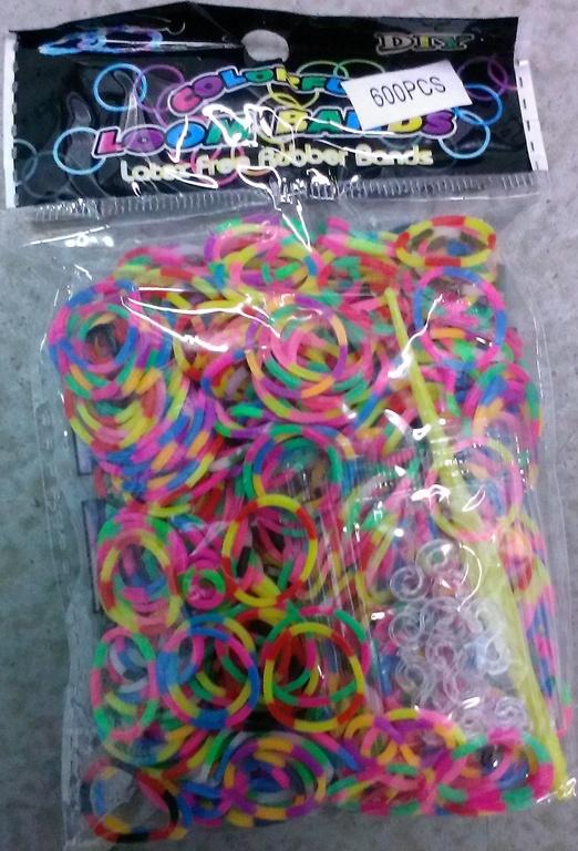 Недорогие резиночки для плетения браслетов